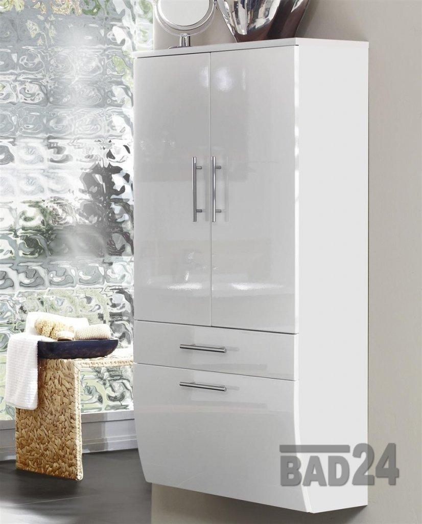 Hochschrank 70 Sanita Hochglanz Weiß/weiß: Amazon.de: Küche U0026 Haushalt