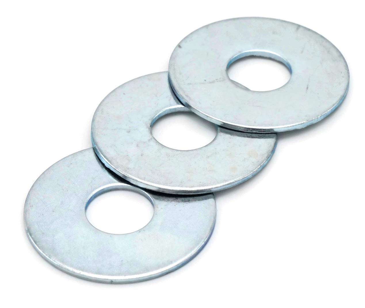 """100 3//8X1-1//2 Fender Washers Stainless Steel 3//8/"""" x 1-1//2/"""" Large OD Washers"""