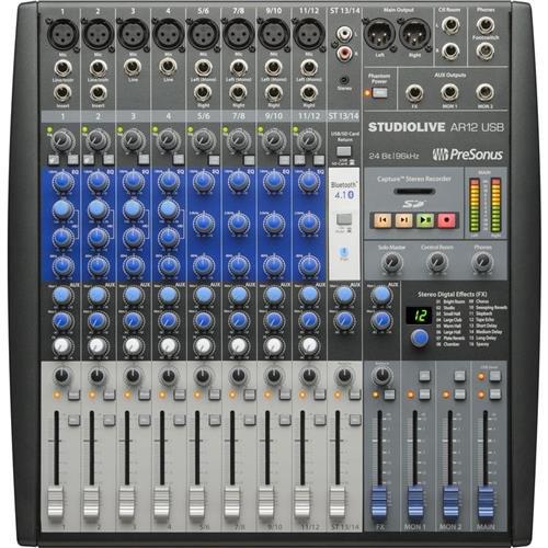 PreSonus StudioLive 22-channel Hybrid Performance and Recording Mixer (SLMAR22) ()