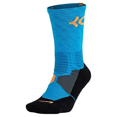 shop best sellers latest discount cheap for discount Nike Women's Hyper Elite KD Basketball Socks Small (Size 4-8) Blue, Orange