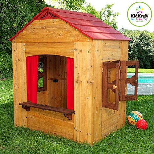 Outdoor Playhouses Toy : Kidkraft outdoor playhouse buy online in uae toy
