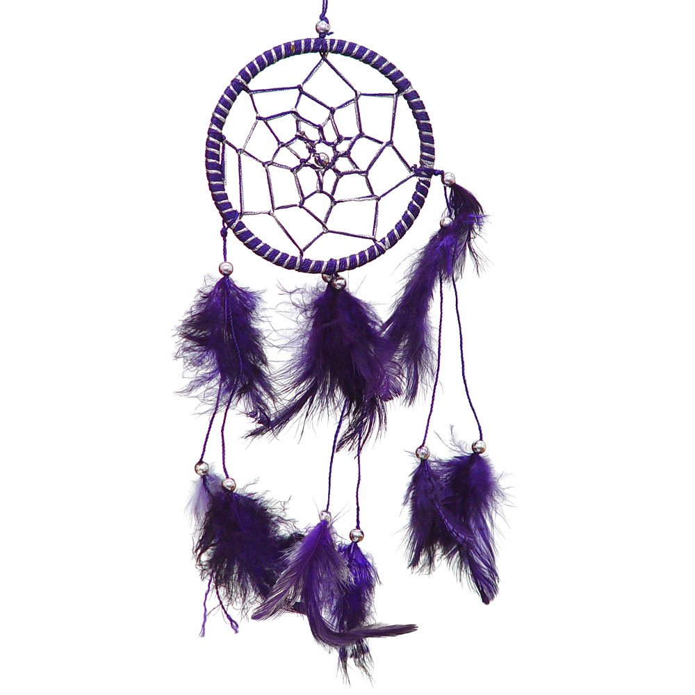 Small Purple Dream Catcher