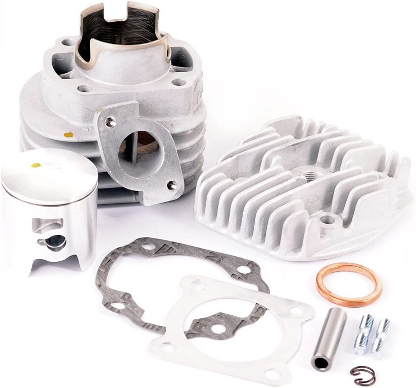 Minarelli-Motor Typ:BA0102 -2003 Zylinder Kit AIRSAL 70ccm T6 M-RACING BENELLI 491 ST 50 AC