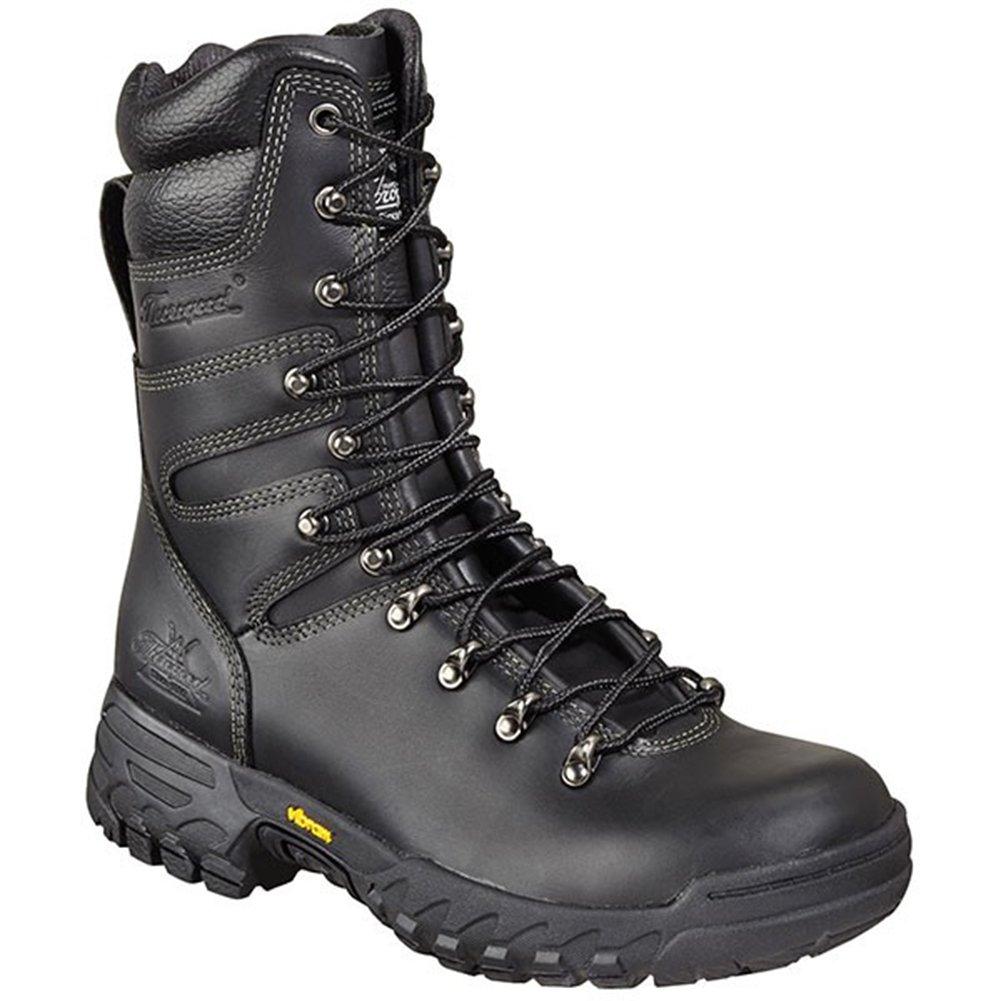 Thorogood Women's 9'' Firestalker Elite Wildland Hiking Boots, Black Leather, 11 W