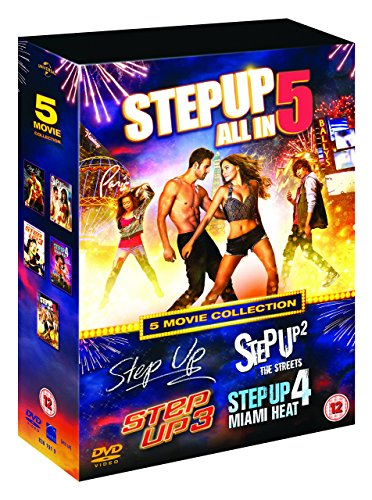 Step Up (5 Movie Collection) - 5-DVD Box Set ( Step Up / Step Up 2 - The Streets / Step Up 3 / Step Up 4 - Miami Heat / Step Up 5 - All In ) ( Le [ NON-USA FORMAT, PAL, Reg.2 Import - United Kingdom ]