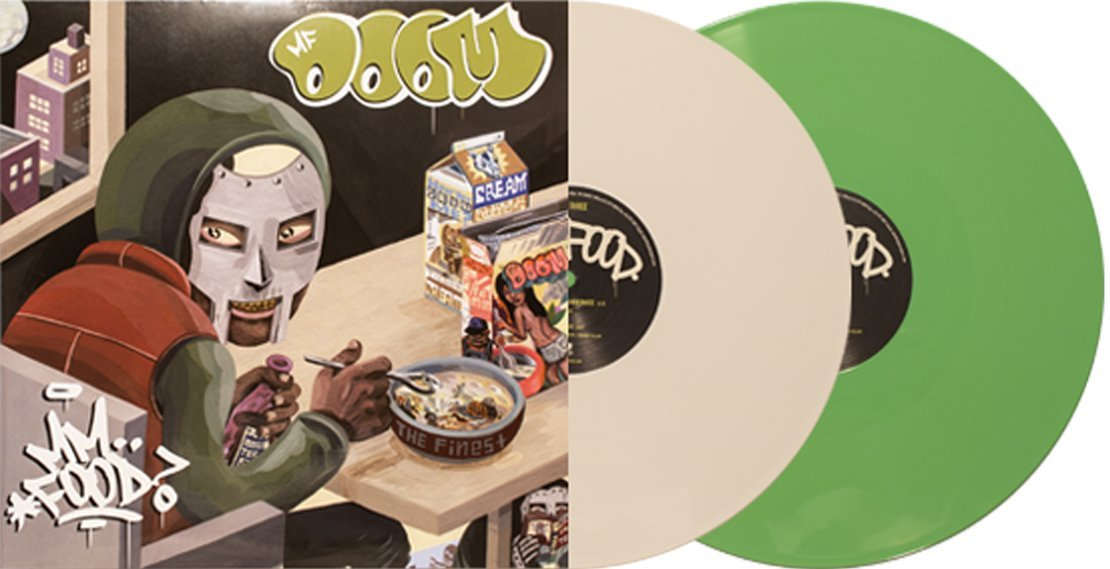 MM..Food Exclusive Green And White Color Vinyl by Rhymesayers Entertainment