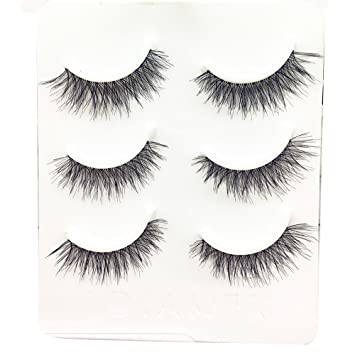 f6f4178894e Amazon.com: WEUIE Eyelashes Hot Sale! 3 Pairs Long False Eyelashes ...