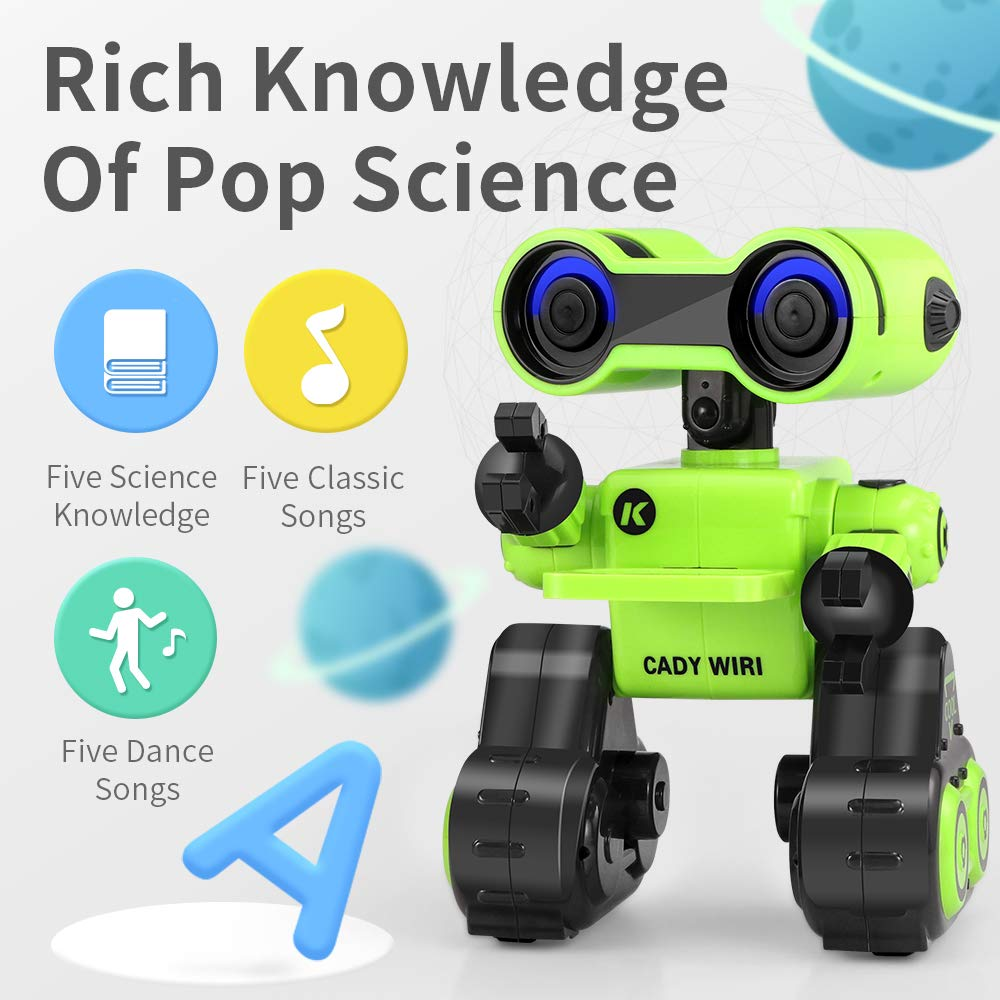 FLYZOE Smart Robot Science Exploration Programmable Robot Dance Speech Interaction Music Toy by FLYZOE (Image #7)