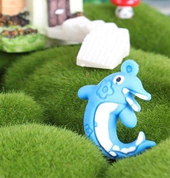 Acuario Flotante suspensión delfín Ornamento para la decoración del Tanque de Peces (Azul): Amazon.es: Hogar