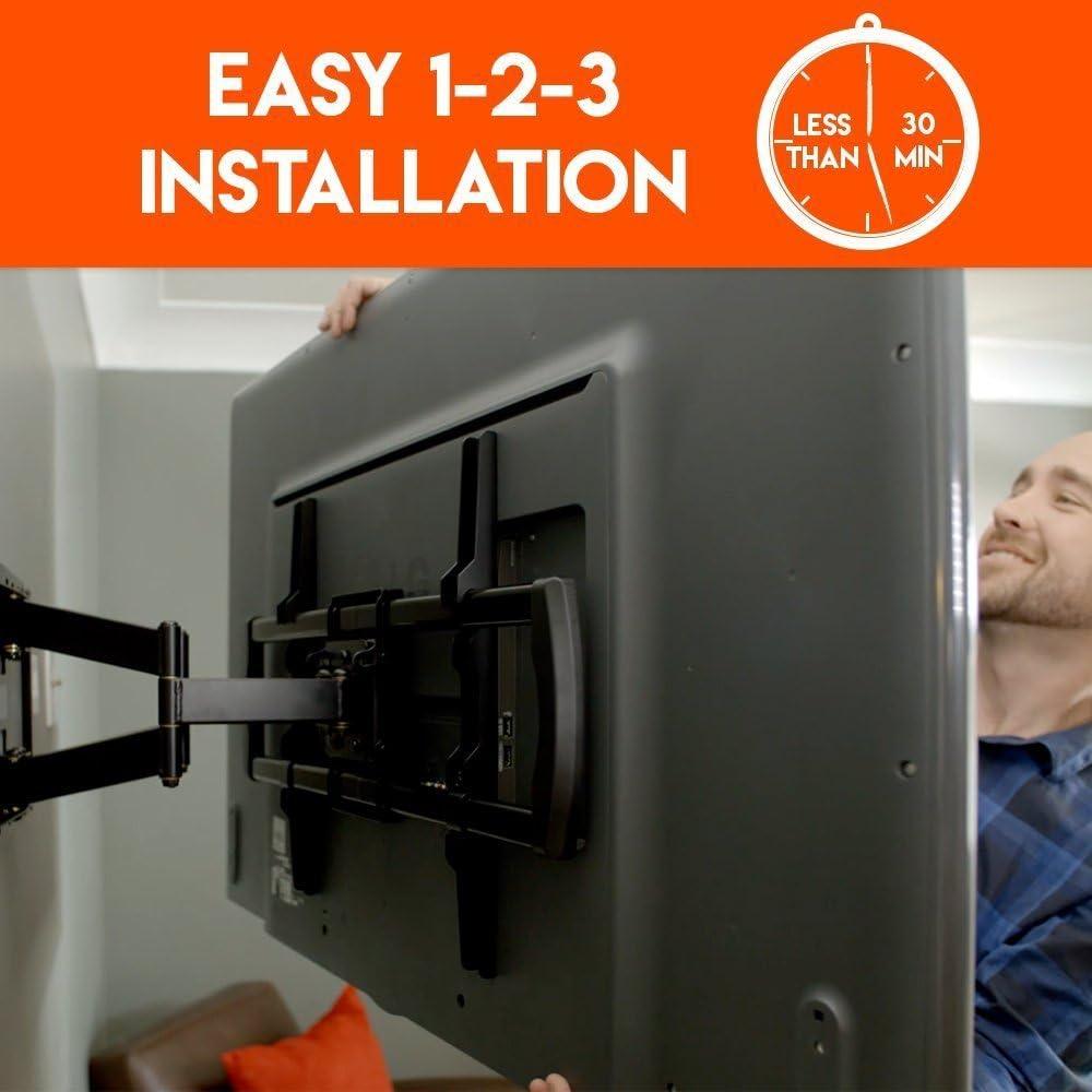 ECHOGEAR Full Motion Articulating TV Wall Mount