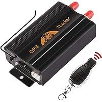HAN-GANG Localizador GPS Rastreador GPS Coche GPS Tracker Dispositivo de Rastreo de Vehículos GPS SMS GPRS Sistema de Seguimiento en Tiempo Real TK103B