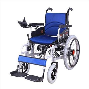 Silla de ruedas eléctrica, Anciano Andador, Plegable, Multifuncional Inteligente, Totalmente automática para