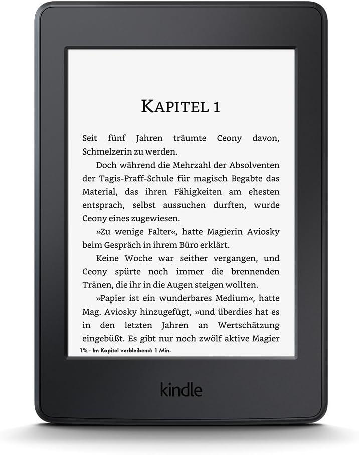 Kindle Paperwhite Vorgängermodell 7 Generation Zertifiziert Und Generalüberholt 6 Zoll 15 Cm Großes Display Integrierte Beleuchtung 3g Wlan Schwarz Amazon Devices