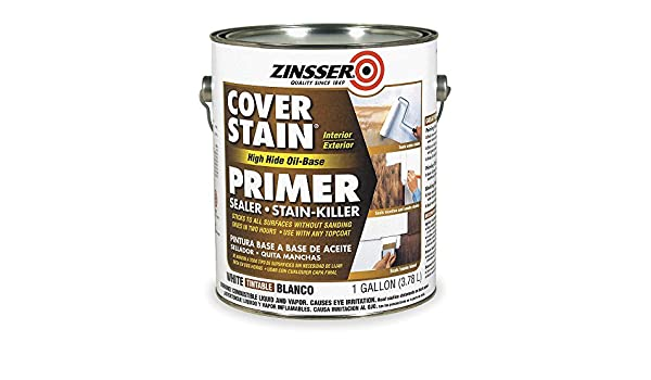 Zinsser 3551 Primer/sealer Stain Killer, white, 1 Gal. - House Primers - Amazon.com