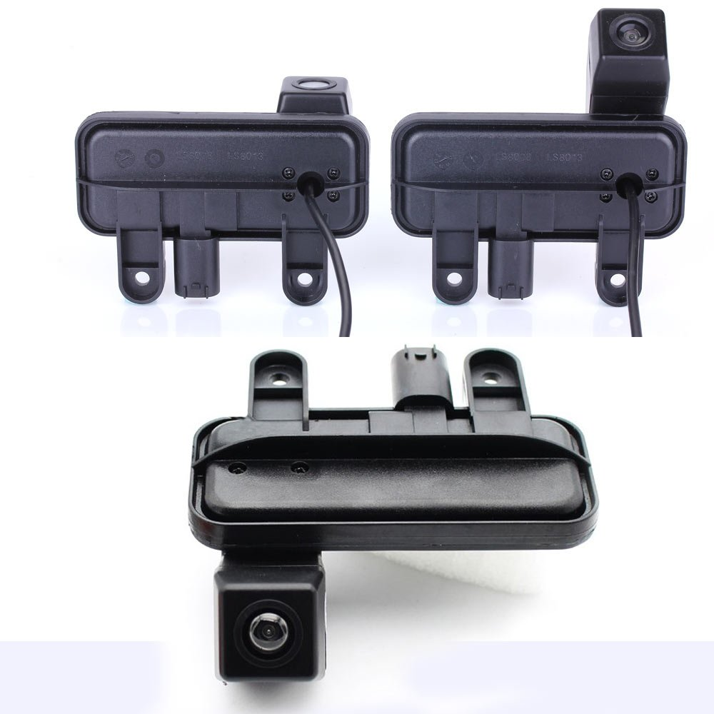 Dynavsal Trunk Handle vehicle-specific Camera Integrated into Case Handle Rear View Camera for Mercedes Benz E Class W210 W211 W212 C207 W207 E200 E200L E260 E300 E300L E350 E63 A B Class A180 A200