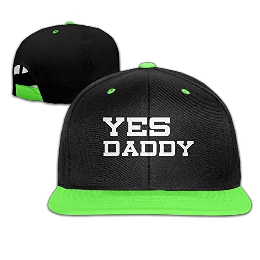 36551036 Image Unavailable. Image not available for. Color: Fashion Adults Baseball  Caps Yes Daddy Kids Hip Hop Boys Girls Gym ...