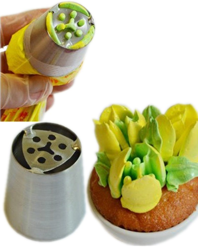 Boquilla Flor de Tulipán 3 Pétalos No. 04: Amazon.es: Hogar