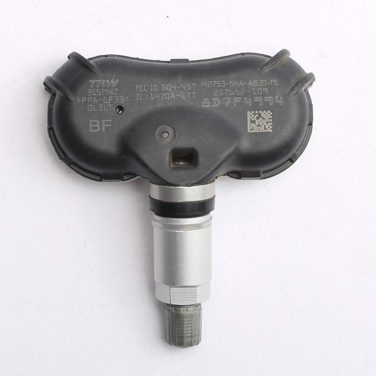 X AUTOHAUX 7PP907275F Car Tire Pressure Sensor TPMS 433MHz for Audi A6 Volkswagen Touareg