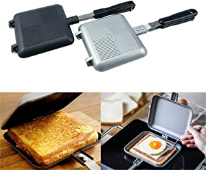 Toaster-Sandwich Maker Toaster, Waffle Iron Grill Frying Pan Breakfast Baking