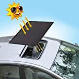 Magnetic Car Sunroof Sun Shade Breathable Mesh, Car roof Cover for Overnight Camping, Quick Install, UV Sun Protection When P
