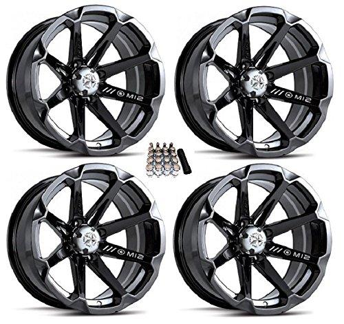 Diesel Wheels Black Polaris Ranger
