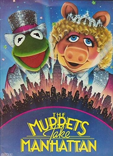 Muppets Take Manhattan 1984 Original Movie Program - NOT A DVD