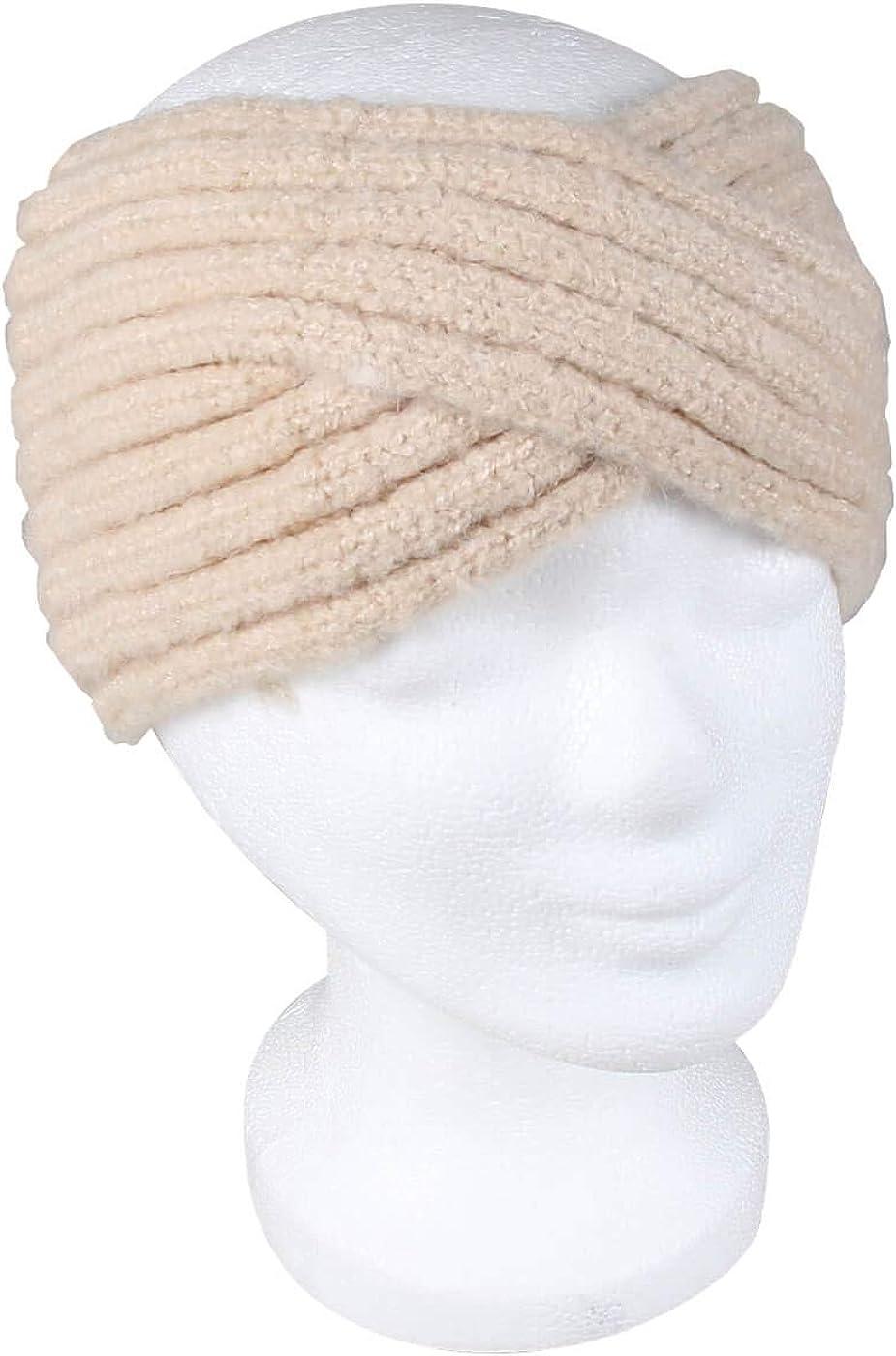 Alsino Stirnband Damen Haarband Winter M/ädchen Kopfband Strick Geflochten Kinder Ohrensch/ützer Ohrenw/ärmer Vintage