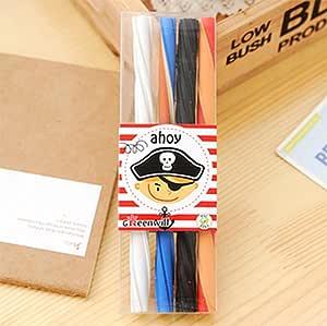Kawaii lápiz goma de borrar, cute largo color fruta de goma Cartoon Borracha en trozos de corrección escuela suministros papelería, 4 pcs: Amazon.es: Oficina y papelería