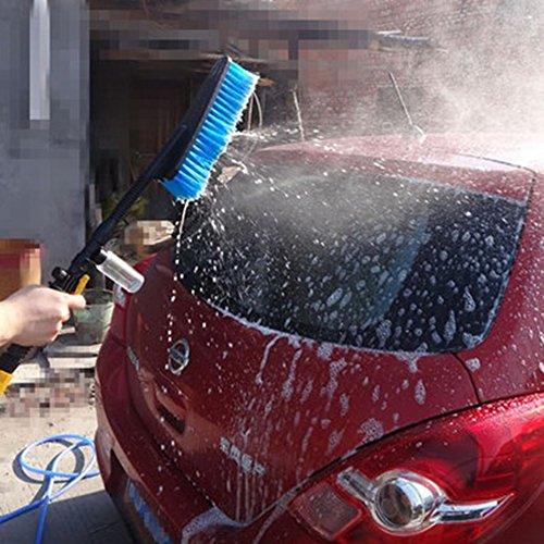 Flee Car Wash Brush with Water Switch Pivot Pro Water Detachable Vehicle Washing