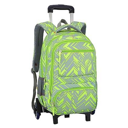 c1f6abdbe4de C-Xka Rolling school bag, Waterproof Rolling Backpack Elementary ...