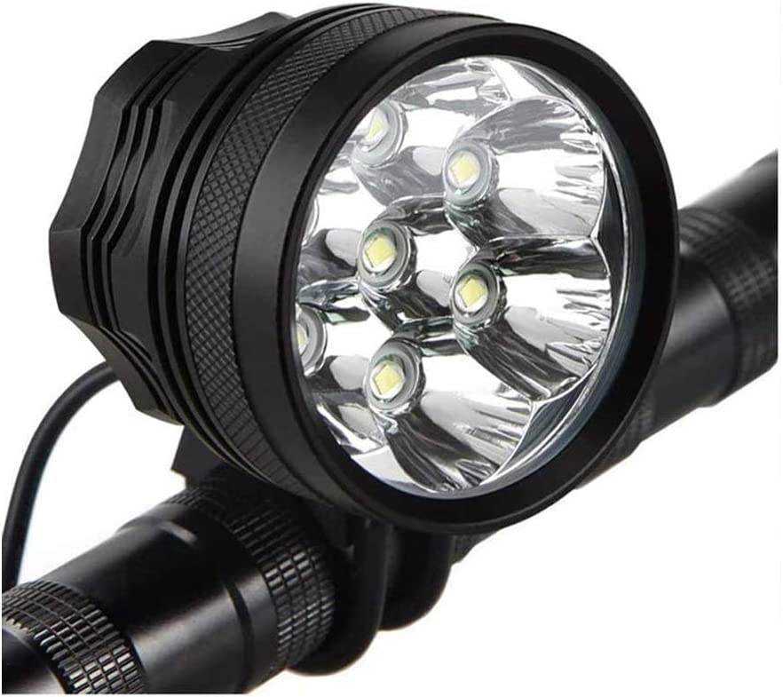 Details about  /Bicycle Headlight Bike Light Rechargeable LED Lamp Power Bank MTB Flashlight Us