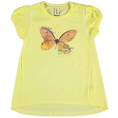d86993c0833d9 Babyface - T-Shirt - Col Rond - Fille Jaune Citron Vert  Amazon.fr ...