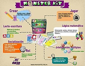 Monster Kit: Vv.Aa., Vv.Aa.: Amazon.es: Juguetes y juegos