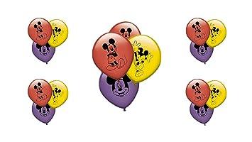 ALMACENESADAN 0671, Pack 16 Globos Disney Mickey ...
