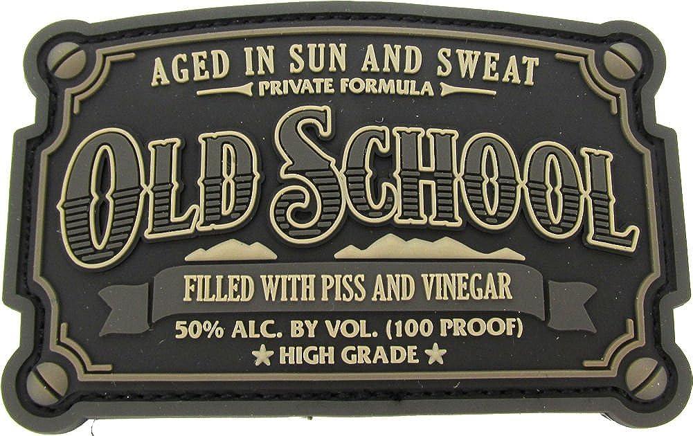 Old School PVC Patch SWAT Black Urban