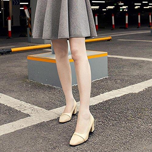 Hatop Chaussures, Mode Femmes Élégantes Élégantes À Talons Hauts Pointues Pompes Casual Chaussures Chaussures De Mariage Kaki