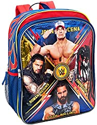 WWE 16 inch Backpack with Side Mesh Pockets