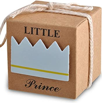 Amazon.com: LASLU - Cajas de regalo para baby shower + 50 ...