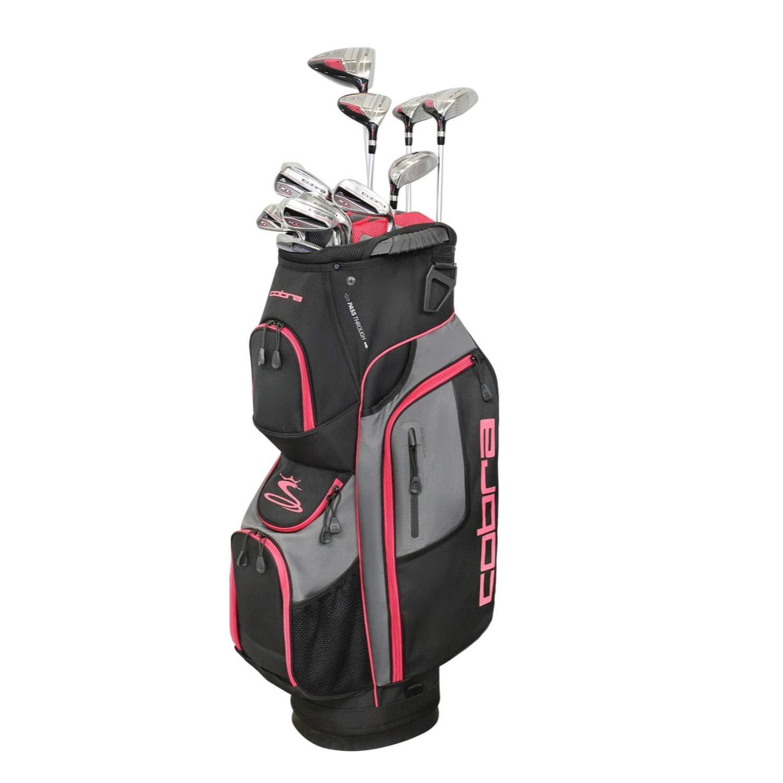 Cobra Golf XL Speed Women's Complete Set 黒-ピンク RH [並行輸入品]