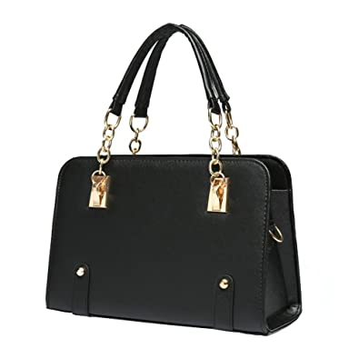 d47cdd6ba5 ILISHOP Women s New Fashion Shoulder Bags Top-handle Bags For Ladies Casual  Cross-body