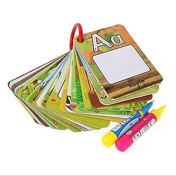 Togames-ES Tarjeta de Dibujo acuático Libro para Colorear ...