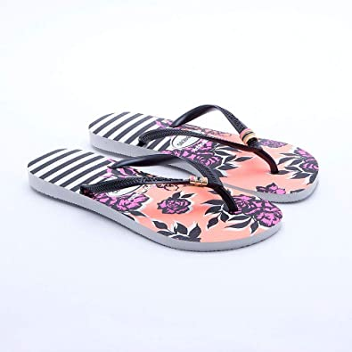 cffad0e1e683 Havaianas Slim Thematic - UK Size 1 2 (BR  33 34)  Amazon.co.uk  Shoes    Bags