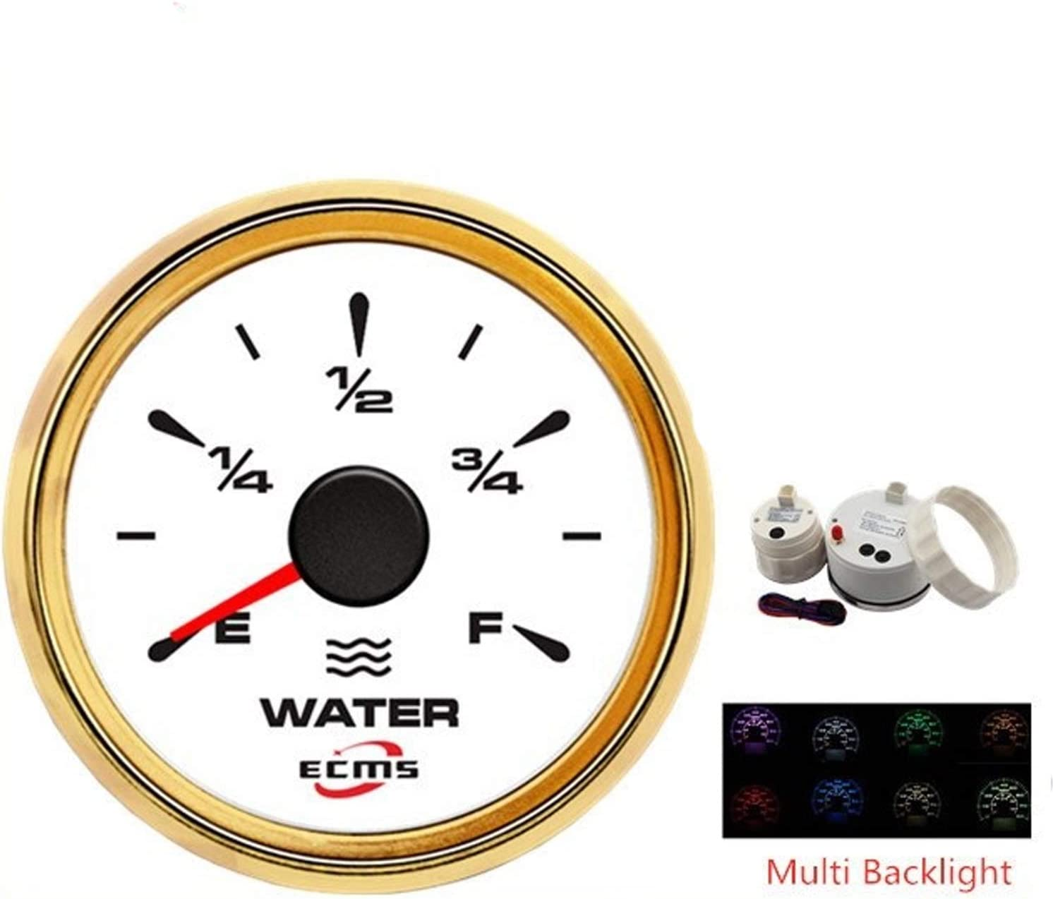 Electronic measuring equipment Universal Multiple Backlight 52mm Water Level Gauge Meter Indicator