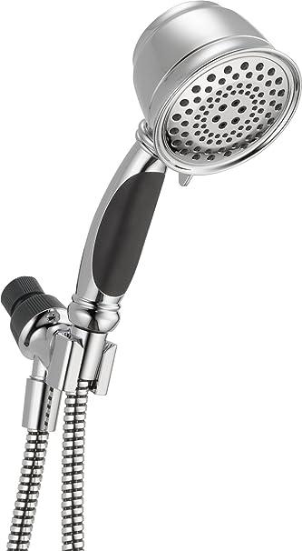 delta faucet vintage style five spray massage hand shower unit chrome