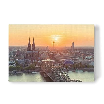 artboxONE lienzo ciudades ciudades/Colonia Colonia verano paisaje diseño lienzo, 60 x 40 cm