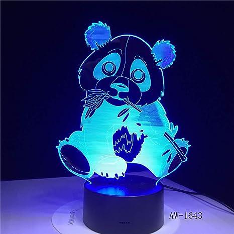 Coche de excavadora 7 luces 3D mesa de luz nocturna para niños ...