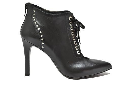 NERO GIARDINI Polacchini nero 9684 scarpe donna elegante mod. A719684DE