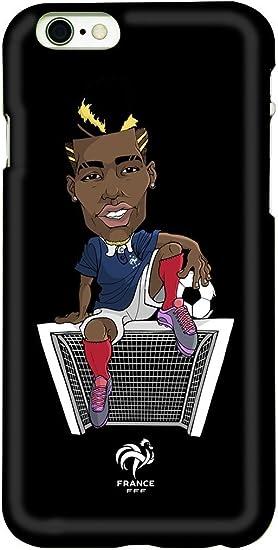 FFF Coque de téléphone Iphone 6 Paul Pogba - Collection Officielle Equipe de France de Football