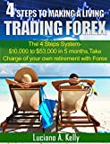 4 Steps To Making A Living Trading Forex: The 4 Steps System