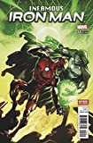 Infamous Iron Man #2 Divided We Stand Variant